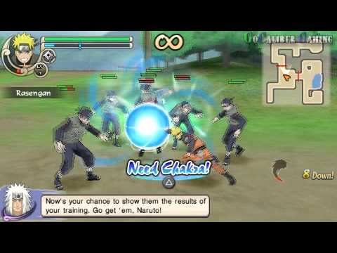 Naruto Shippuden: Ultimate Ninja Impact - part 2 Walkthrough - A Test of Strength