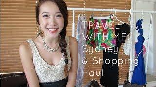 getlinkyoutube.com-Travel With Me: Sydney & Shopping Haul | Jenny Zhou