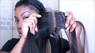 getlinkyoutube.com-how to Prep your LACE CLOSURE| FLAT & NATURAL
