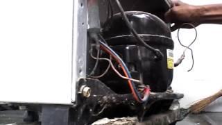 Cara mengisi freon kulkas