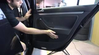 getlinkyoutube.com-VW GTI MK5 4 Door LED Puddle Light DIY - USP Motorsports