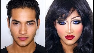 getlinkyoutube.com-Drag Queen Make Up Tutorial