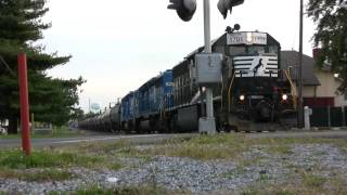 HD: Monster RS3L on NS SD45-2 #1701 + Conrail Blues!