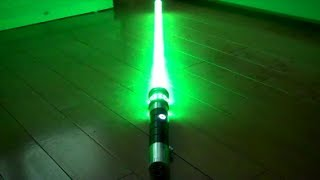 getlinkyoutube.com-Ultrasabers Emerald Manticore with Obsidian Sound Review