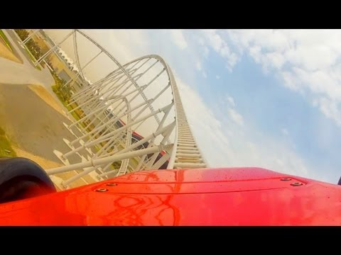 Formula Rossa POV - World's Fastest Roller Coaster Ferrari World Abu Dhabi UAE Onride