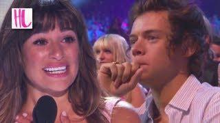 getlinkyoutube.com-Harry Styles Cries During Lea Michele Cory Monteith Speech - Teen Choice Awards