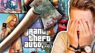 SCARY AXE MAZE GAME w/ OLI WHITE | GTA V