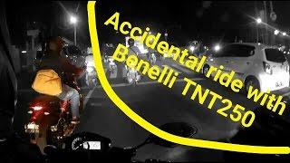 getlinkyoutube.com-Fakhrihp Motovlog - Accidental ride with Benelli TNT250
