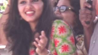 gayathri suresh hot in boat