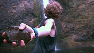 Throwing Stones into Water @1,500fps (Ty Moss & Grayson Burger)