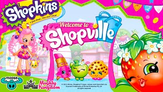 getlinkyoutube.com-Shopkins Welcome to Shopville App Game Cupcake Baking Limited Edition Cupcake Queen
