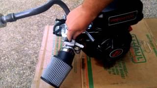 getlinkyoutube.com-Predator 212 - Minibike engine