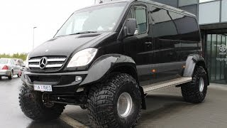 getlinkyoutube.com-Sprinter 4x4 Iceland Artic trucks