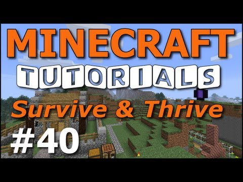 Minecraft Tutorials - E40 Potion Brewing Basics (Survive and Thrive II)