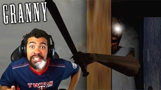GRANNY GOT CHEAT CODES IN THIS UPDATE!! SHE HIT ME THROUGH THE WALL!   Granny   #2