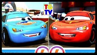 getlinkyoutube.com-Cars Fast as Lightning - Dinoco McQueen VS Lightning McQueen