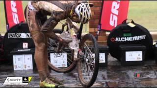 getlinkyoutube.com-2014 Absa Cape Epic Muddy Stage 2 - Nino Schurter, Philip Buys , Gert Heyns