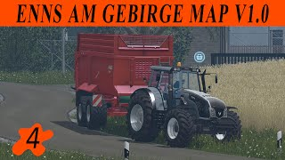 Farming simulator 15 / Enns Am Gebirge map v 1.0 / Episode 4 / SOLO