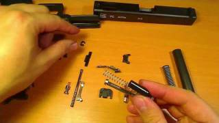 getlinkyoutube.com-Complete Glock Disassembly and Reassembly