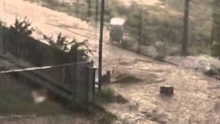 Nevşehir Acıgöl organizeyi su bastı