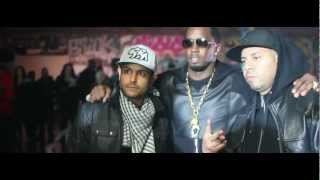 French Montana - Ocho Cinco Ft Diddy, Machine Gun Kelly, Red Cafe & King Los (Making Of)