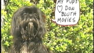All Dogs Go To Heaven   Promotional Featurette From VHS Screener (1990)