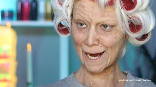 getlinkyoutube.com-Old Lady Lex (Old Age) Makeup Tutorial (NO PROSTHETICS/NO LATEX)