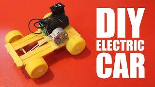 getlinkyoutube.com-How to make a battery powered car - DIY electric car