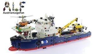getlinkyoutube.com-Lego Technic 42064 Ocean Explorer - Lego Speed Build Review