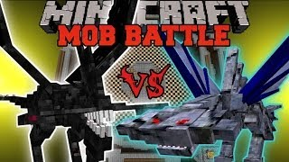 NIGHTMARE VS. CEPHADROME - Minecraft Mob Battles - Arena Battle - OreSpawn Mod Battle