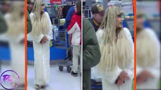 getlinkyoutube.com-Strangest and Weirdest People Found Shopping at Walmart