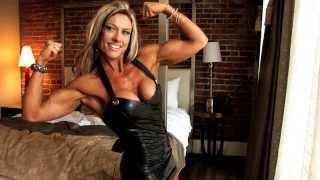 getlinkyoutube.com-Hot Blonde Muscle Babe