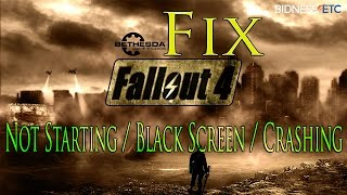 getlinkyoutube.com-How to Fix Fallout 4 Not Starting / Black Screen / Crashing Problem on PC
