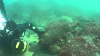 Investigating an unknown cannon in Cornwall