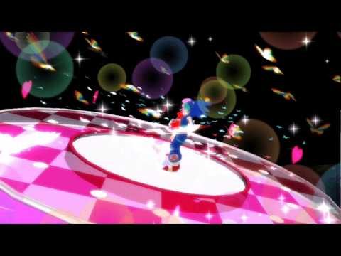 (MMD) Sonic Miku and Amy- Fukkireta (REQUEST)