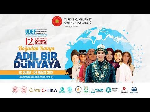 Uluslararası Öğrenciler Adına Reem Alastal'ın Konuşması - 12. Uluslararası Öğrenci Buluşması Final