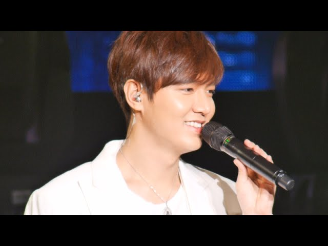 Lee Min Ho Global Tour in Bangkok