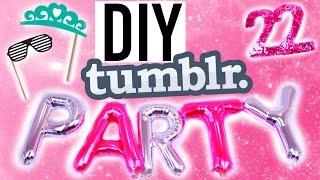 getlinkyoutube.com-DIY Tumblr! Summer Birthday Treats, Decor +More!