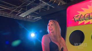 getlinkyoutube.com-Giant Wack A Mole Arcade Game For Hot Girls Butts. Behind The Scenes!