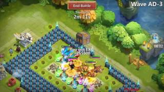 getlinkyoutube.com-Castle Clash - Trying a new base for HBM AD!