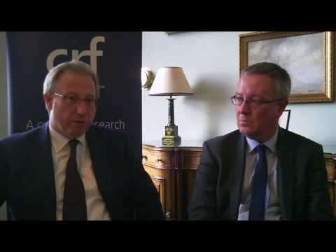 CRF Spring Symposium 2013 - interview with Geoff Lloyd and Des Pullen