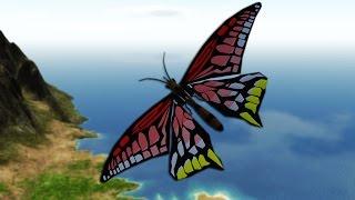 getlinkyoutube.com-BUTTERFLY PLANE MOD | Simple Planes #2