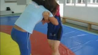 getlinkyoutube.com-Meninas em Luta Olímpica_ Professor Joanilson Rodrigues
