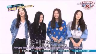 getlinkyoutube.com-[TR SUB] Red Velvet Weekly Idol (1/2)