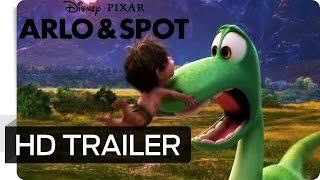 getlinkyoutube.com-ARLO & SPOT - 2. Offizieller Trailer (Exklusiv in Deutschland) - Disney HD