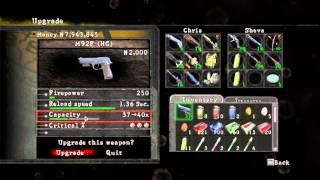 getlinkyoutube.com-Como conseguir armas Raras no resident evil 5