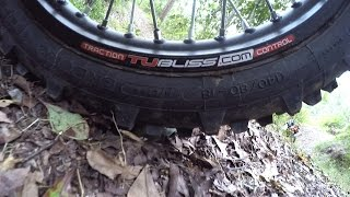 getlinkyoutube.com-TUBLISS: First impressions on the tubeless tire setup for dirt bikes