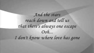 Spandau Ballet - Through The Barricades (Lyrics)