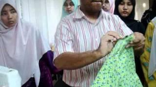 getlinkyoutube.com-belajar menjahit   kain baju kurung2