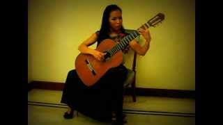 getlinkyoutube.com-Happy New Year on Classical guitar, arranged and played by Thu Le